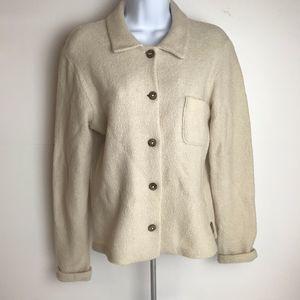 J. Crew 100% Wool Cardigan Sweater